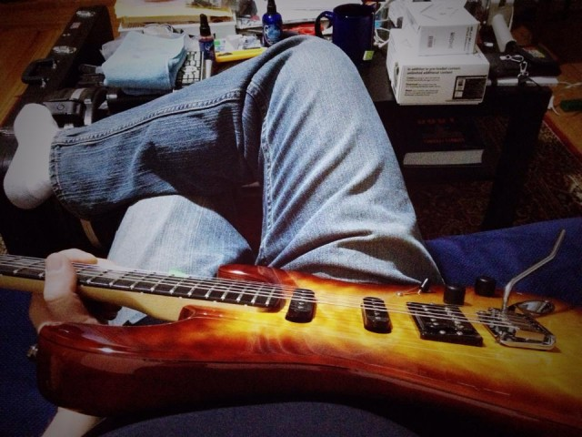 rene_practicing_on_couch_apr2015